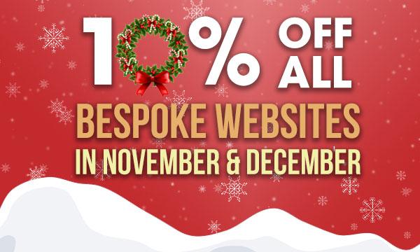 Website design discount