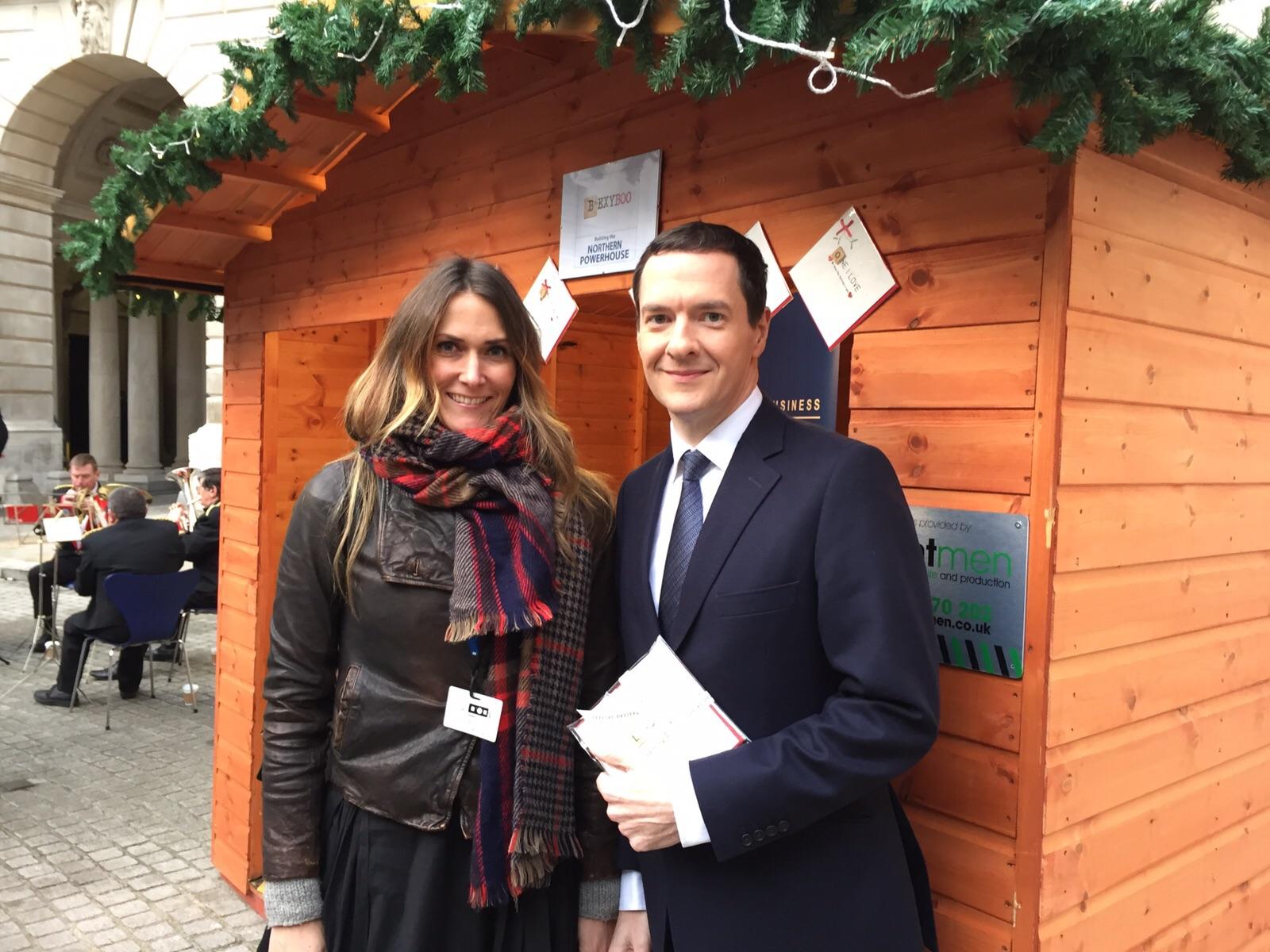 George Osborne & Bex from Bexy Boo