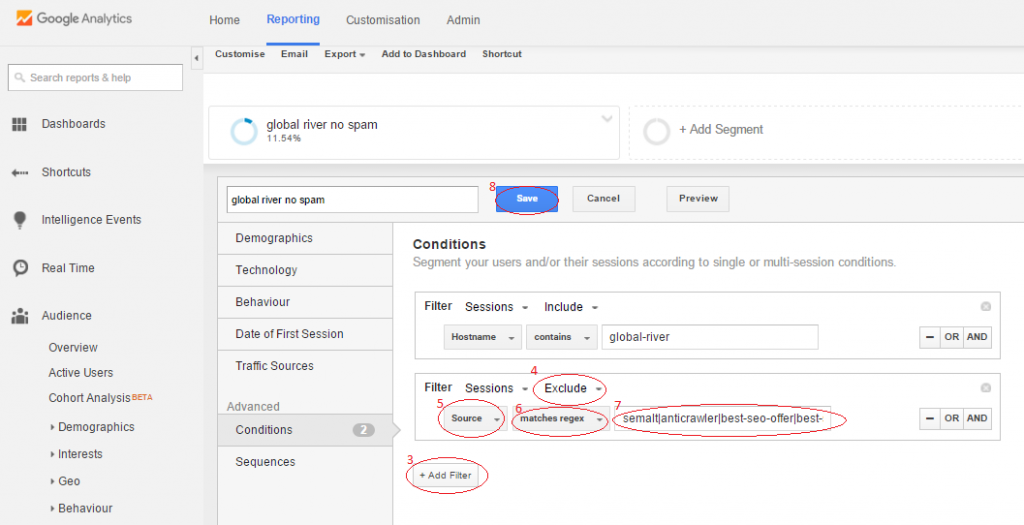 Removing Google Analytics Spam - Crawler Spam
