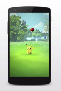 pokemon go screen shot